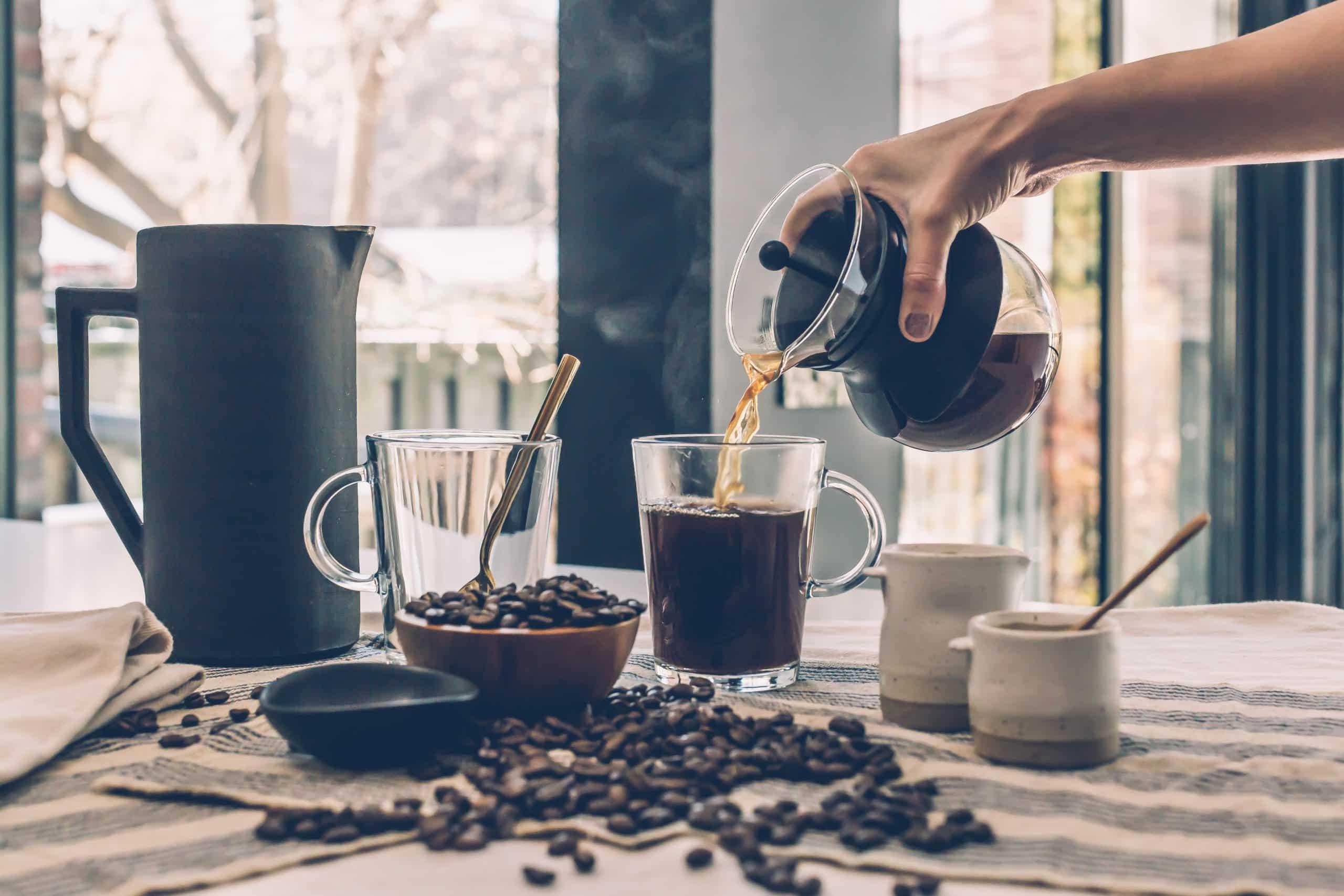 how much caffeine a day